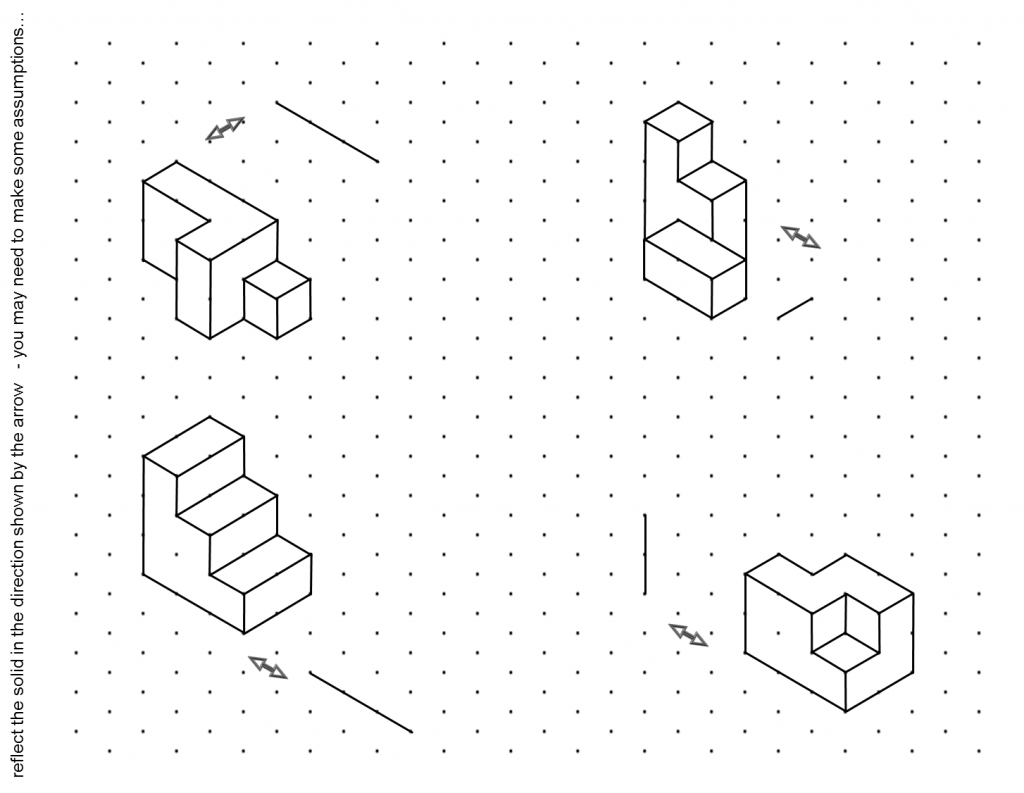 Isometric Drawing Worksheet Free Worksheets Library