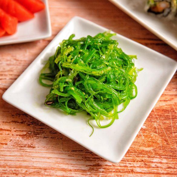 Toshi Sushi Vancouver - Hiyashi Wakame Seaweed Salad