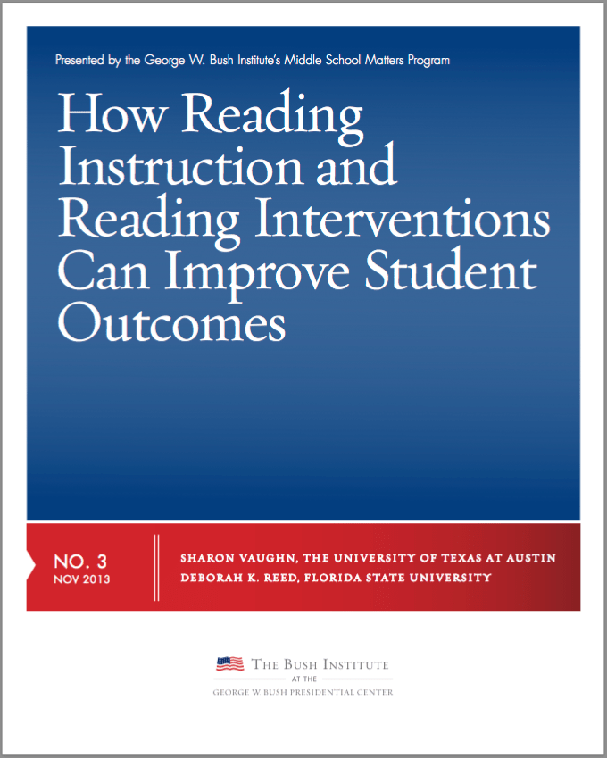 How Reading Instruction and Reading Interventions Can Improve Student Outcomes