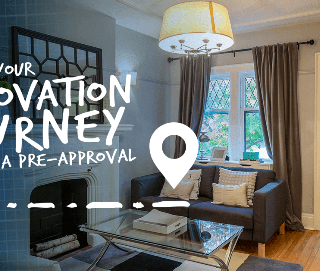 Applying To Finance Your Renovation Journey