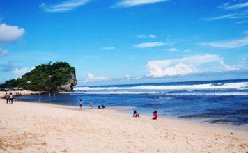 pantai indrayanti wisata pantai di jogja