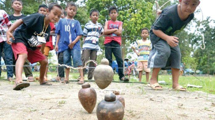 gasing permainan anak indonesia
