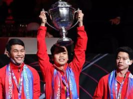indonesia juara piala thomas 2020