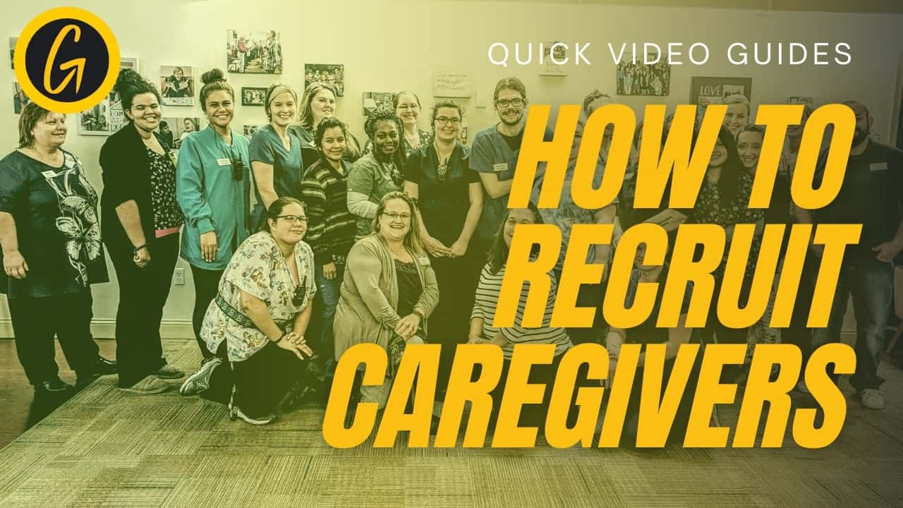 how to recruit caregivers cover art
