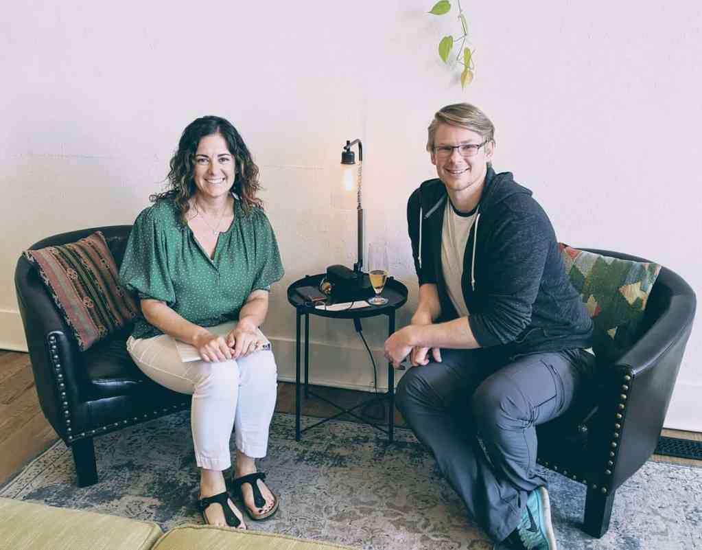 zeth with Adrienne Irwin
