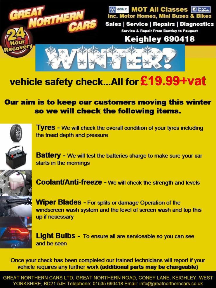 Winter Service Promo
