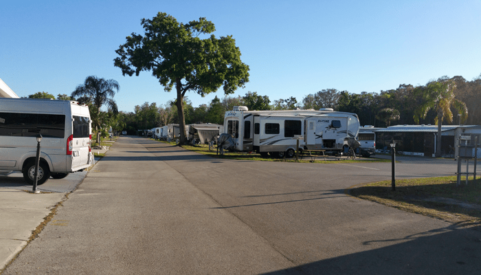 Wide Through-ways for Large Campers
