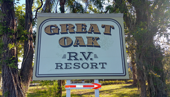 Welcome To Great Oak RV Resort