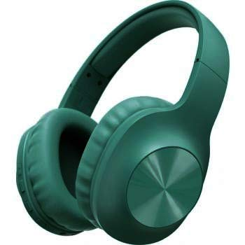 Meyaar Wireless Over-Ear Made in India Headphones with Deep Bass, Foldable 2 in 1 Wireless and Wired Stereo Headset Built in Mic & Aux for Cell Phone, PC, Soft Earmuffs & Light Weight (Green) Accessories