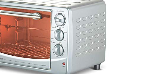 Bajaj Majesty 2800 TMCSS 28-Litre Oven Toaster Grill (Silver) Home Appliances