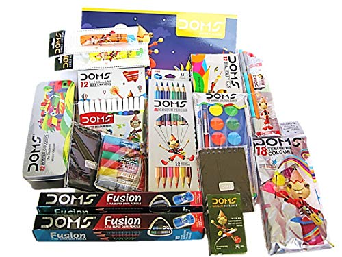 DOMS Vibrant Multi Colours & Utility Items Complete Paradise Painting Kit