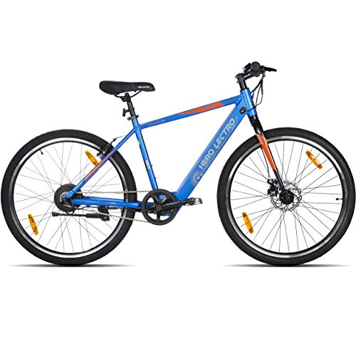 """Hero Lectro Kinza 27.5T SS Single Speed Electric Cycle - 18"""" Frame, 95% assembled"""