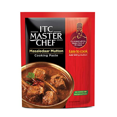 ITC Master Chef Masaledaar Mutton Cooking Paste 80g, Ready to Cook Spice Mix, Easy to Cook Masala Mix