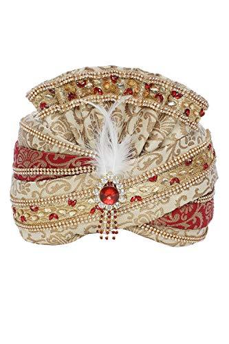 KMINE Mens Readymade Wedding Turban