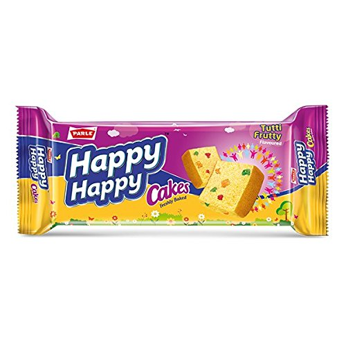 Parle Happy Happy Cake, Tutty Fruity, 140g