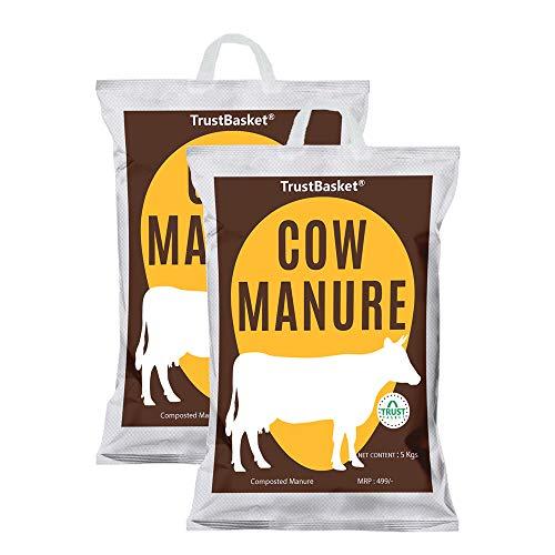 TrustBasket Cow Manure for Plant-10 KG