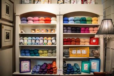 Yarn. Soap. Frames.