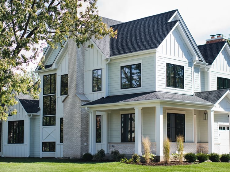 board and batten siding - James Hardie Siding Designs & Styles in Overland Park