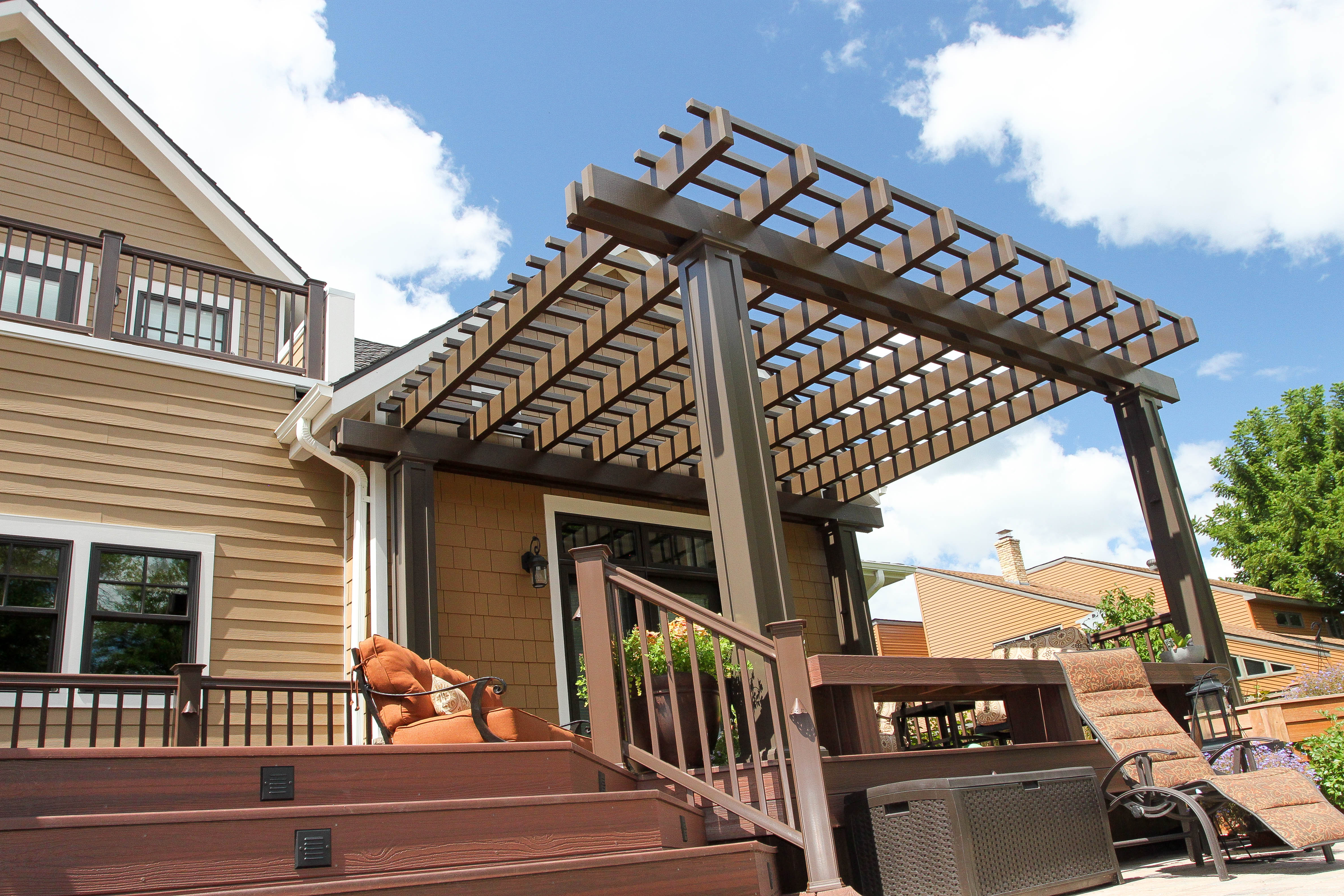 Great Plains Pergola Chocolate