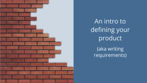 define product intro