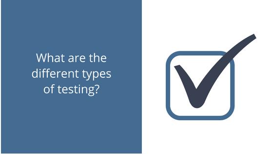 Testing Types Blog Post Pic