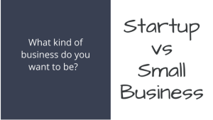 Startup v Small Biz blog photo