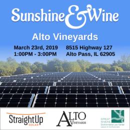 Sunshine and Wine square graphic