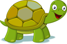 Fred the Turtle Clip Art.png