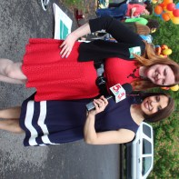 Sarah Willey and KSDK's Dana Dean have similar taste in dresses!