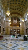 Entry hall of the Kelvingrove
