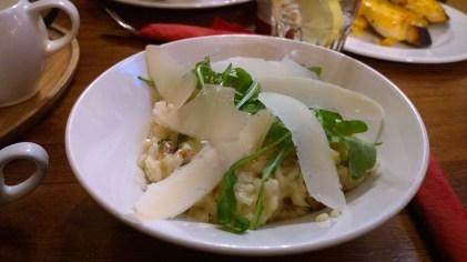 Mushroom and Parmesan Risotto