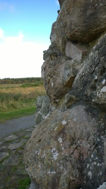 Closeup of the cairn.