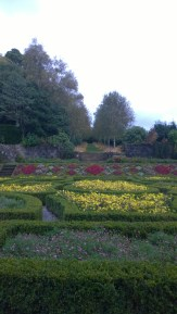 Pollok House Gardens - couldn't you just see a summer house on that terrace?