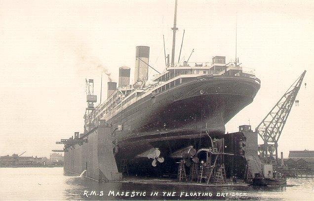 Bismarck R M S Majestic Ii