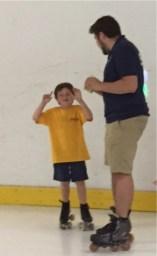 Skate lessons 6