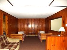 Comfort is key in our cabins
