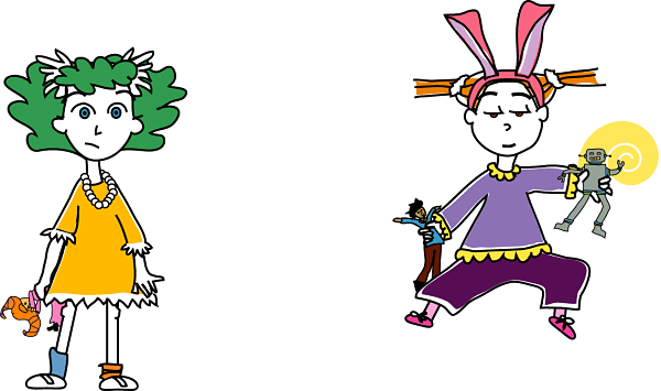 Bunny and Witch