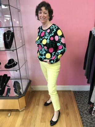 Happy customer Cynthia