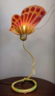 Butterfly Lamp - $20