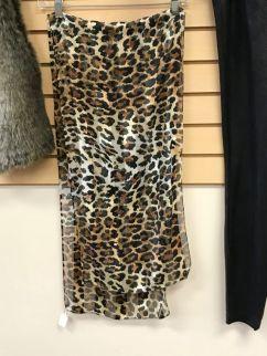 cheetah scarf $20
