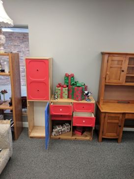 Doors And Drawers on the Stackable Cube Set $150