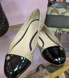 Tori Burch Flats Size 6, $45