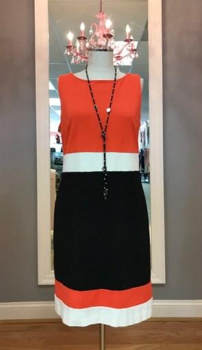 $25 Sz 8 Multi Color dress