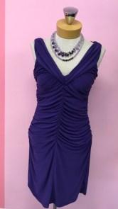 $49 Ribkoff dress size 2. $20 Necklace