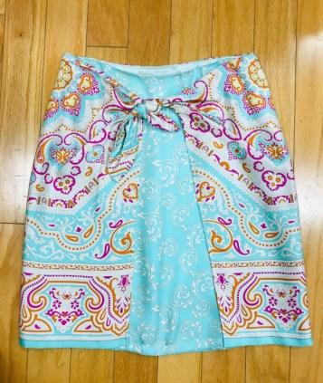 $59 Sz 4 McLaughlin silk skirt