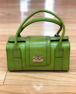 $25 Green leather Nordstroms purse