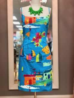 $25 size 10 bright pattern dress