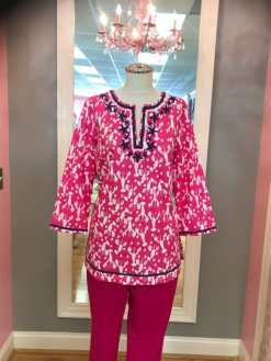 $25.00 Talbots lobster top. $29.00 Worth pants