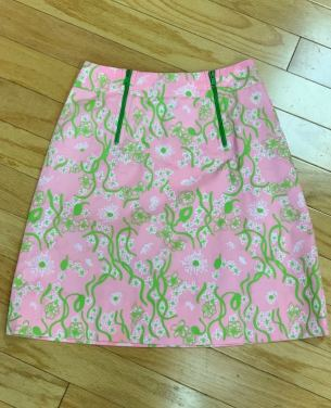 $35 size 8 Lilly vintage skirt