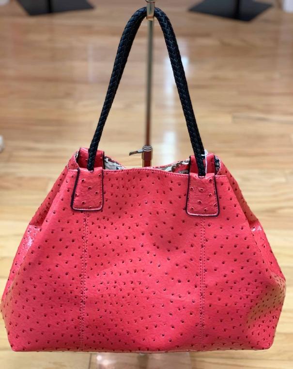 $29 Big Buddha watermelon textured bag
